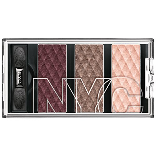 N.Y.C. New York Color HD Color Trio Eye Shadow, Central Park