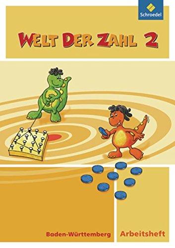 Welt der Zahl - Ausgabe 2010 für Baden-Württemberg: Arbeitsheft 2