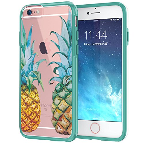 Translucent Watercolor Pineapples Transparent Protective product image