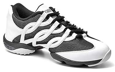 Bloch Women's Twist Dance White Fashion Sneakers 10 X