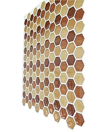 3D Mosaic Wall Sticker, Selbstklebende Tapete Für Küche Und Bad, Keramische  Fliese Mosaik Sticker