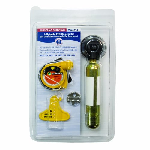 (Mustang Survival Corp Re-Arm Kit (Auto with HIT) for MD3183, MD3184, MD3188)