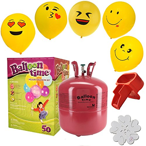 Disposable Helium Smiley Balloons Extras
