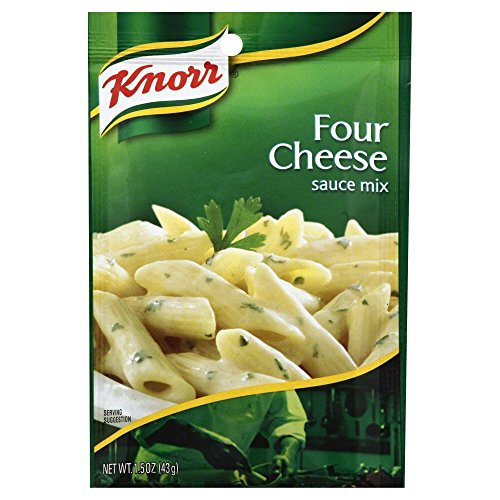Knorr Pasta Sauces Four Cheese Sauce Mix 1.5 Oz(Pack of 3)