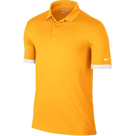 fd5d4f937efd Amazon.com  Nike Golf Men s Icon Solid Golf Polo 2016 (VARSITY MAIZE ...
