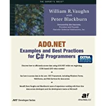 Ado.Net Examples and Best Practices for C# Programmers (Expert's Voice) by William R. Vaughn (10-Apr-2002) Paperback