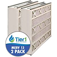Tier1 16x25x5 MERV 13 Trion / Air Bear 259112-105 & 51625?13 Comparable AC Furnace Air Filter - 2 Pack