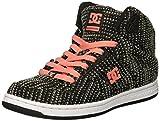 DC Women's Pure HIGH-TOP TX SE Skate Shoe Black/Pink 5 Medium US