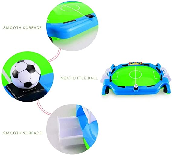 ZXMDP Juego de futbolín Mini Juego de Futbol Mesa de fútbol de Madera Ligera y portátil Regalos para niños Mesa Familiar Juguetes para los pies Juego de futbolín Infantil Cubierto: Amazon.es: Deportes