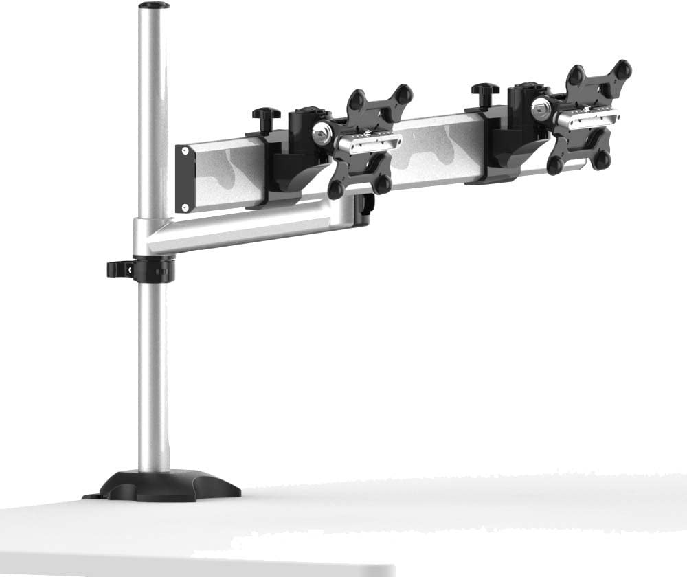 Cotytech Dual Monitor Desk Mount for Apple with Quick Release Single Arm (BL-AP26)