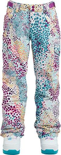 Glove Elite Girls (Burton Girls Elite Cargo Pant, Stout White Dots, Medium)