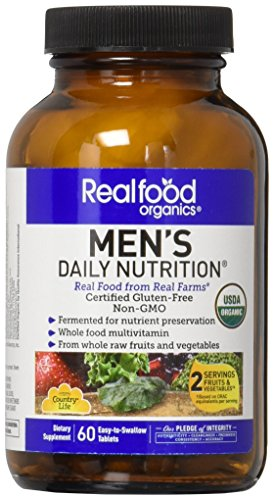 Country Life Realfood Organics Men's Daily Nutrition - 60 Tablets