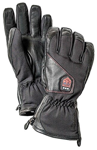 Lounger Power - Hestra Power Heater Glove, Black, 10/X-Large