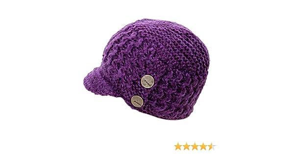 53b0c7d9213e9 Amazon.com  KLIM Adult Peak Beanie Hat One Size Purple  Clothing