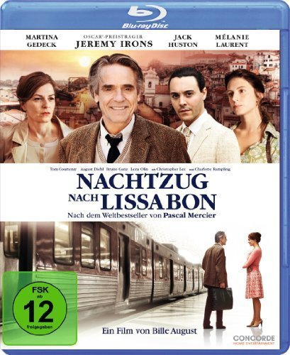 Night Train to Lisbon [ Blu-Ray, Reg.A/B/C Import - Germany ] by Concorde by Bille August