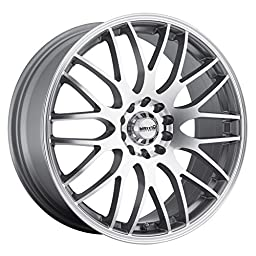 Maxxim Maze Silver Wheel with Machined Face (16x7\