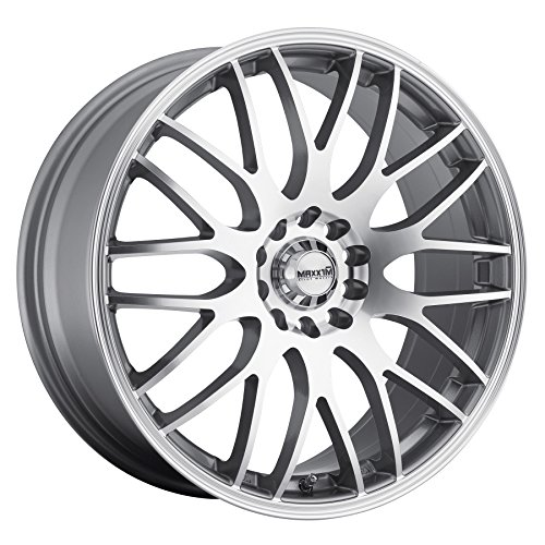 Maxxim Maze Silver Wheel with Machined Face (17x7
