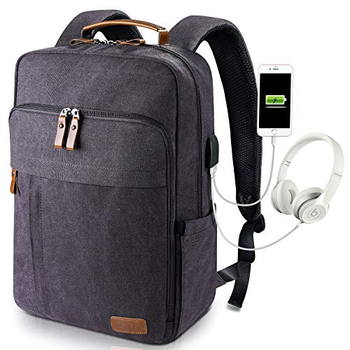 9fcf3064dd17 Estarer Computer Backpacks w USB Charging Port for College Travel Outdoor  Every Carrying Water Resistant