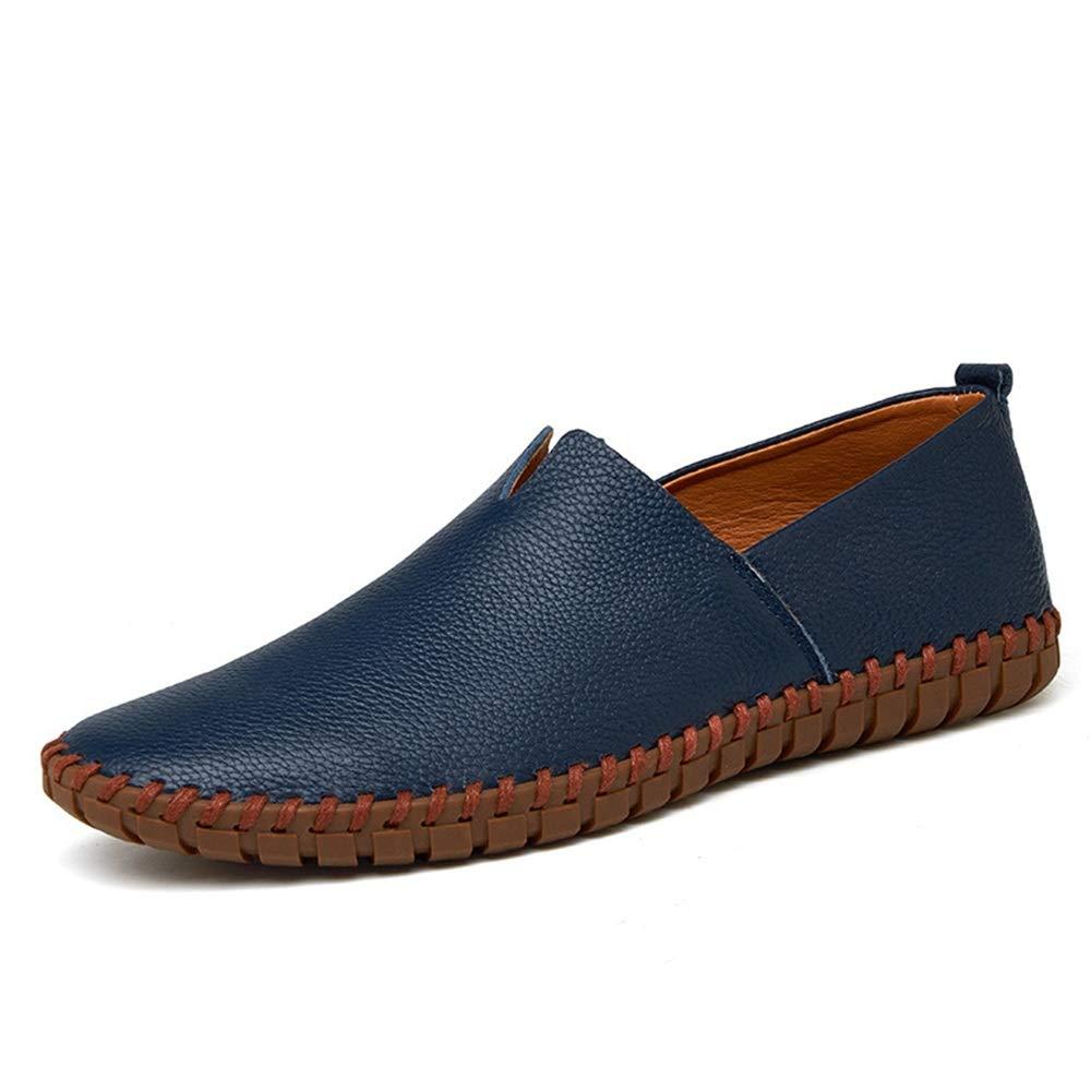 WWJDXZ WWJDXZ WWJDXZ Herren Handgemachte Casual Lederschuhe Fahren Schuhe Flache Schuhe Business Schuhe Stiefelschuhe Loafer Mokassin-Gommino beiläufig  f0785b