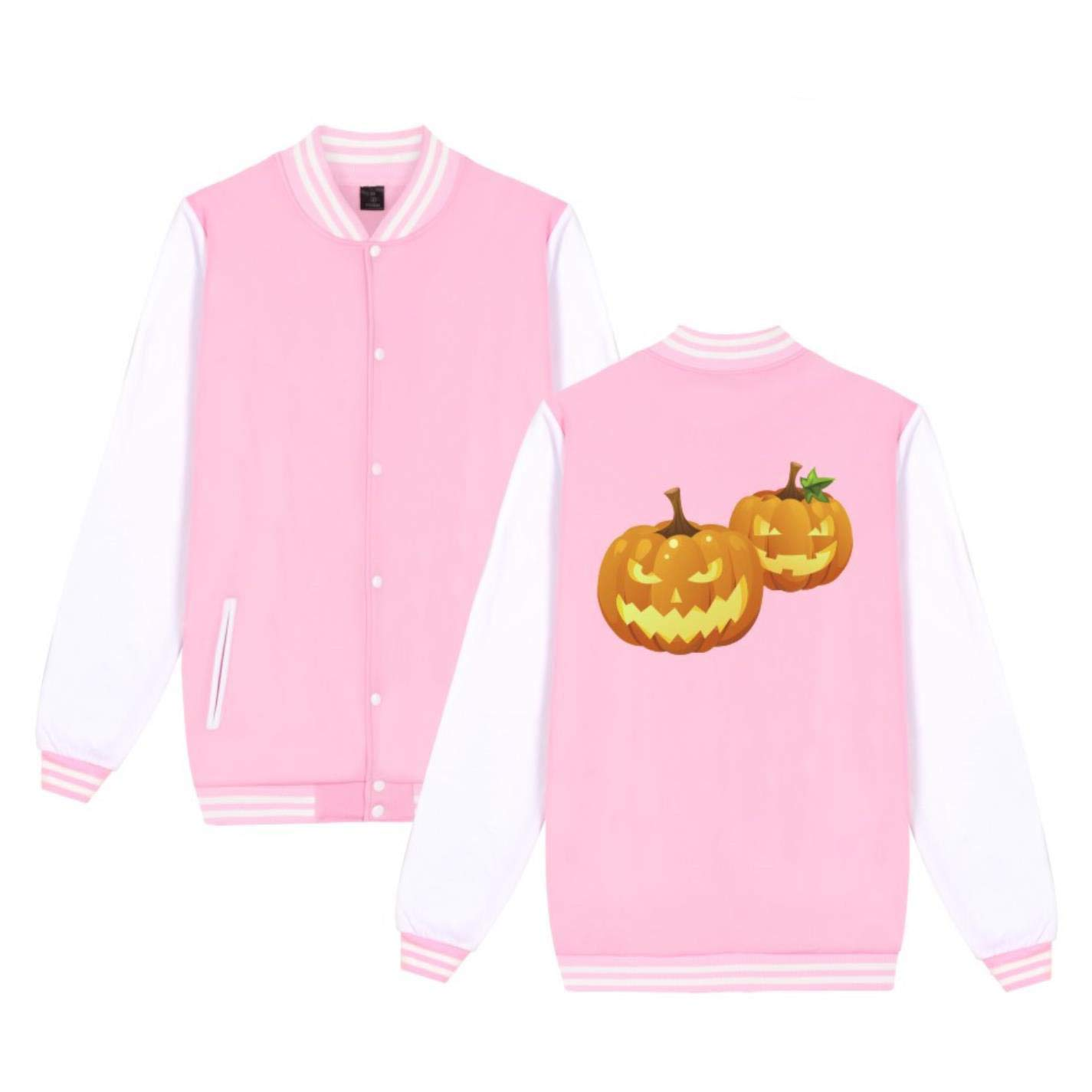 Bibize Halloween Jacket Sweashirt Happy Funny Coat Jackets Women Spring Soft