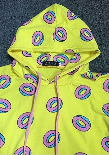 746992ea28a767 Kpop EXO BTS GOT7 Just Right Mark Jumper Hoodie Cute Donut  UnisexSweatershirt (XL