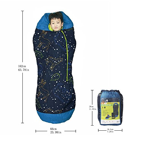 Sleeping bag children boys