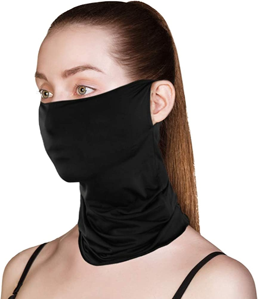 Face Bandanas Neck Gaiter Face Cover Scarf Balaclava Lightweight Breathable Fishing Running Cycling Purdue Boilermakers