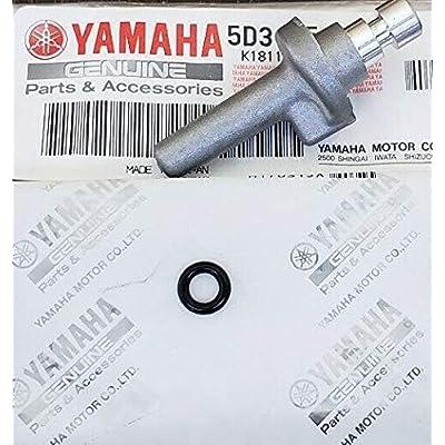 Yamaha YFZ450 Oil Nozzle & O-ring Upgrade Kit 5D3-15155-00-00: Automotive