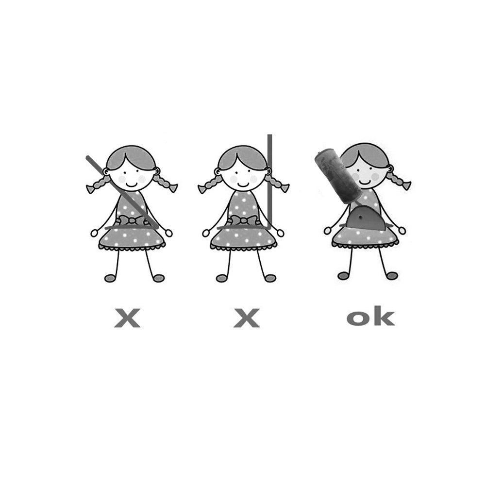 Nackenst/ützkissen und Sicherheitsgurt-Schutzpolster f/ür Kinder WOMUMON Damen Sicherheitsgurt-Kissen und Anpassungs-Set f/ür Kinder superweicher Samt