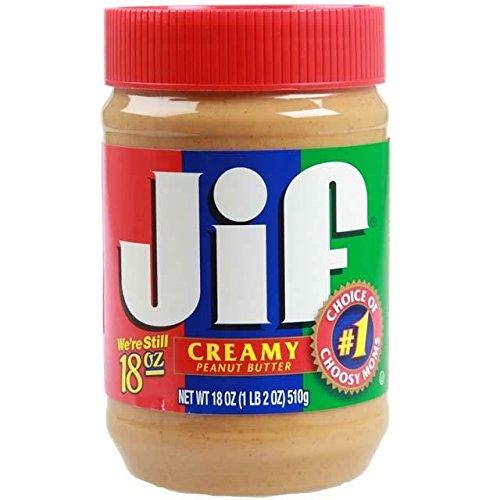 Jif Creamy Peanut Butter - 454g