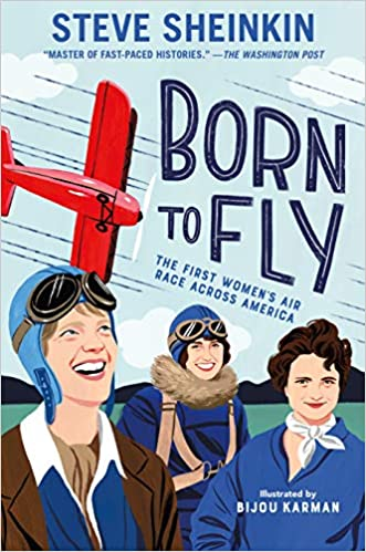 Image result for born to fly sheinkin