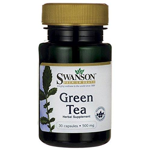 Swanson Green Tea 500 Milligrams 30 Capsules Review