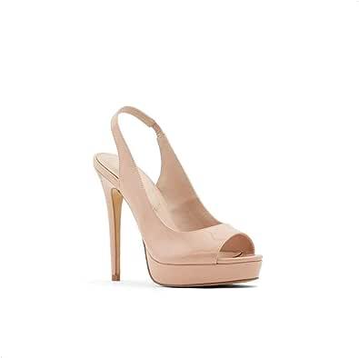 Aldo Heels Sandal for Women, Size 8 US, Beige