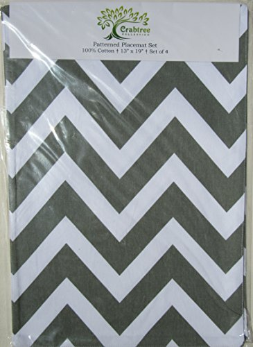Set Patterned Placemats Decorator Quality
