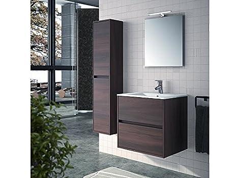 Lavabo Con Mobiletto Sospeso : Mobile bagno sospeso con lavabo in ceramica e colonna noja