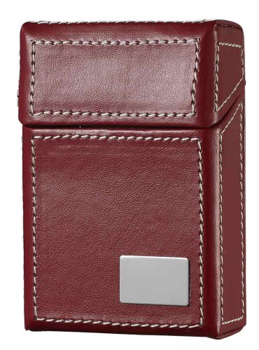 Designer Cigarette Case - Visol Products Rogue Leather Cigarette Case