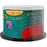 Compucessory CCS72102 CD Rewritable Media - CD-RW - 12x - 700 MB - 50 Pack