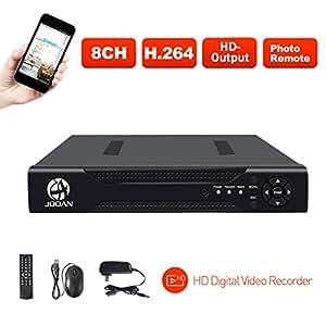 Amazon.com: JOOAN 8CH 1080N DVR Security Video Recorder ...