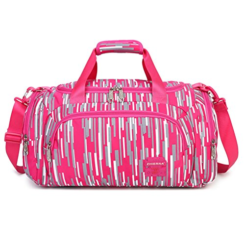 MATMO Girls Travel Duffle Bag Outdoor Tote Bag Sports Gym Bag Waterproof Handbag -