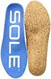 SOLE Unisex Active Thick + Met Pad Blue 13 Women / 11 Men  US