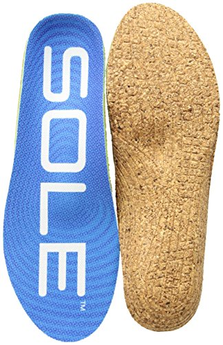 SOLE Unisex Active Thick + Met Pad Blue 13 Women / 11 Men US