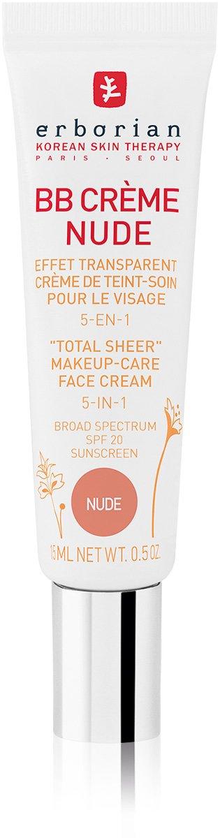 Erborian BB Creme Nude, getönte Tagespflege, 1er Pack (1 x 15 ml) getönte Tagespflege 6AA30067