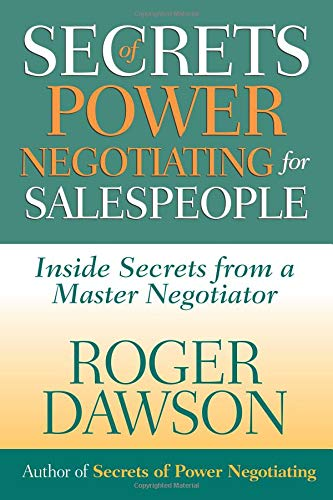 Secrets of Power Negotiating for Salespeople ebook