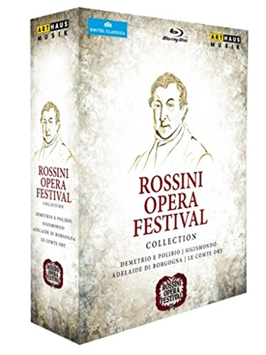 Rossini: Opera Festival Collection - Live from Pesaro [Box Set] [Blu-ray] by Arthaus