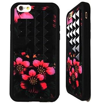 9ee9bffd4f wildflower ( ワイルドフラワー ) ロサンゼルス デザイン ブラック スタッズ ジプシー ピラミッド iphone6ケース Gypsy  Floral Black