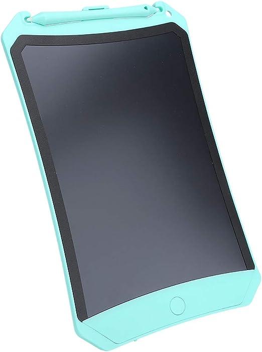 キッズ用LCDライティングタブレット8.5インチ、描画ボードLCDライティングパッドポータブルライトエネルギーモノクロ手書きボードキッズ生徒用教師大人(緑)