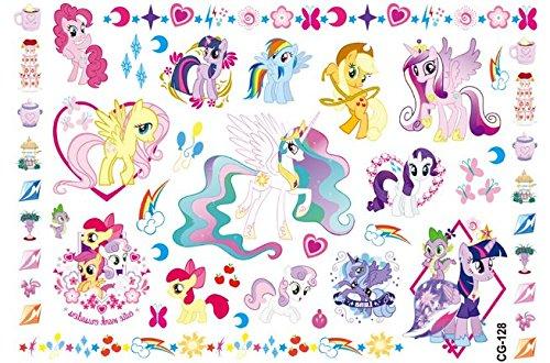 Newin Star Tatuajes Unicornio Temporales para Niños, 7 Packs de Tatuajes de Unicornio, Tatuaje Temporal Pegatinas para Chicos Juego Infantiles Fiesta ...