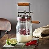 Kilner Glass Butter Churner, Transparent