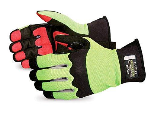 Superior MXHV Mechanics Glove Lime Green product image