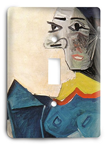 Pablo Picasso - Woman in a Fish Hat 1942 Light Switch Cover